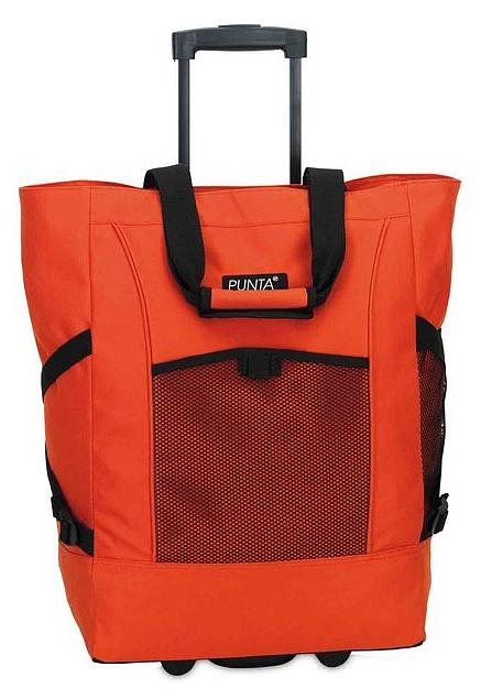 PUNTA wheel Nákupní taška na kolečkách 06980-1400 oranžová