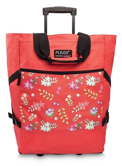 PUNTA wheel Nákupní taška na kolečkách 10008-5200 korálová