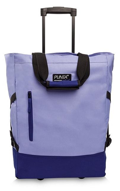 PUNTA wheel Nákupní taška na kolečkách 10183-1819 světle fialová