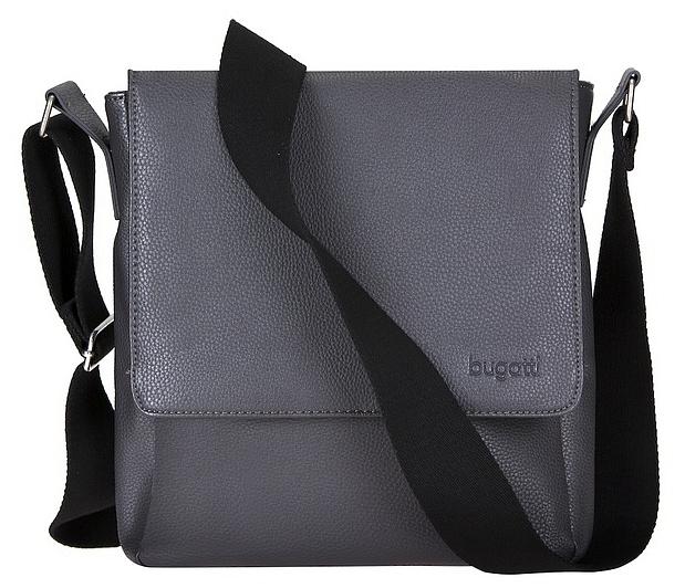 Bugatti Messenger taška M BOSTON 49572249 šedá