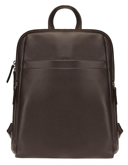 ESTELLE Kožený batoh na formát A4 0965 hnědý