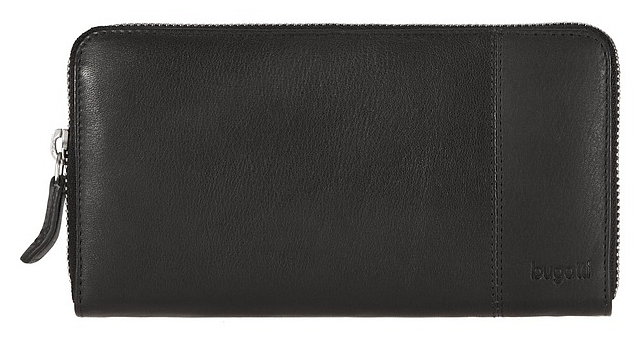 Bugatti Dámská kožená peněženka Manhattan 49112001 černá