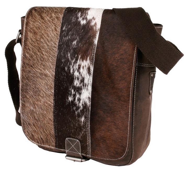 BULL&HUNT Kožená taška přes rameno STREET SHERPA 21-0201 hnědá