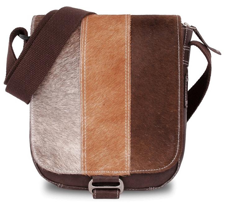 BULL&HUNT Kožená taška přes rameno SPEED SHERPA 31-0201 hnědá