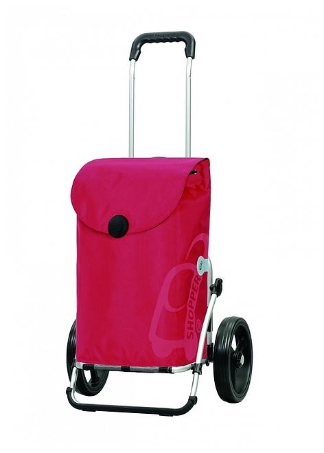Andersen Nákupní taška na kolečkách ROYAL SHOPPER® PEPE 166-050-70 červená