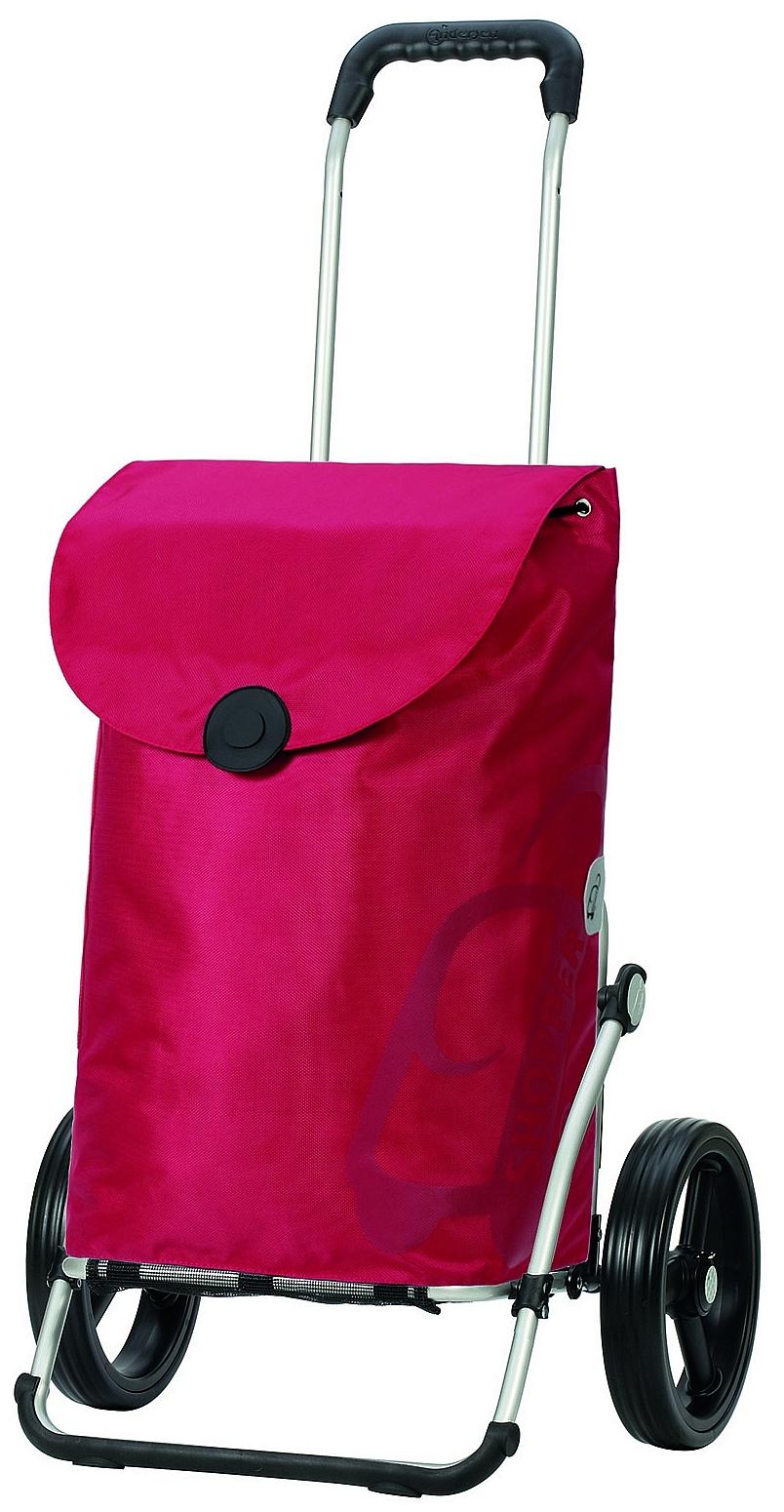 Andersen Nákupní taška na velkých kolečkách ROYAL SHOPPER® PEPE 166-050-72 červená