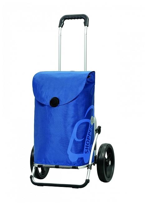 Andersen Nákupní taška na kolečkách ROYAL SHOPPER® PEPE 166-050-90 modrá
