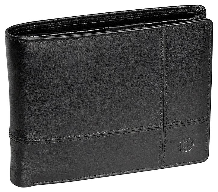 Bugatti Pánská kožená peněženka BRADFORD 49310301 černá