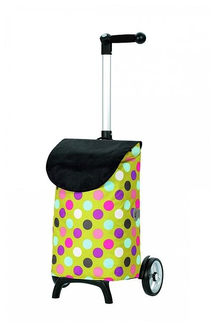 Andersen Nákupní taška na kolečkách UNUS SHOPPER® FUN ISY 121-038-10 žlutá