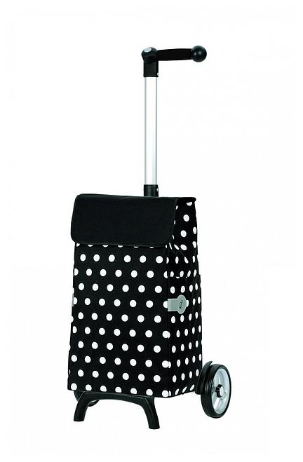 Andersen Nákupní taška na kolečkách UNUS SHOPPER® FUN ELFI 121-040-80 černá