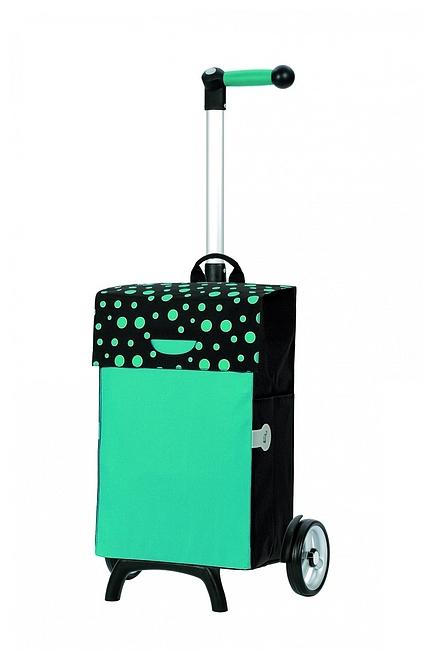 Andersen Nákupní taška na kolečkách UNUS SHOPPER® FUN TESSY 121-017-90 tyrkysová