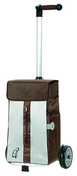 Andersen Nákupní taška na kolečkách UNUS SHOPPER® VITA 140-043-40 hnědá