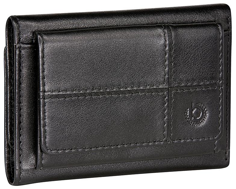 Bugatti Pánská kožená mini peněženka BRADFORD 49310601 černá