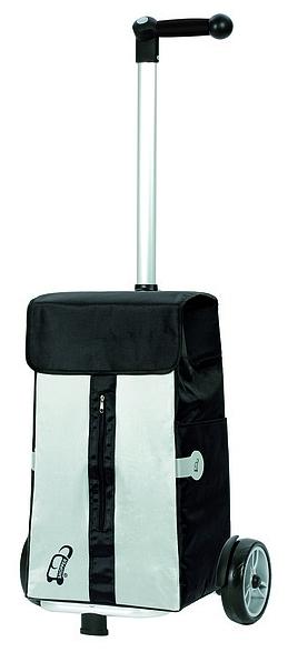 Andersen Nákupní taška na kolečkách UNUS SHOPPER® VITA 140-043-80 černá