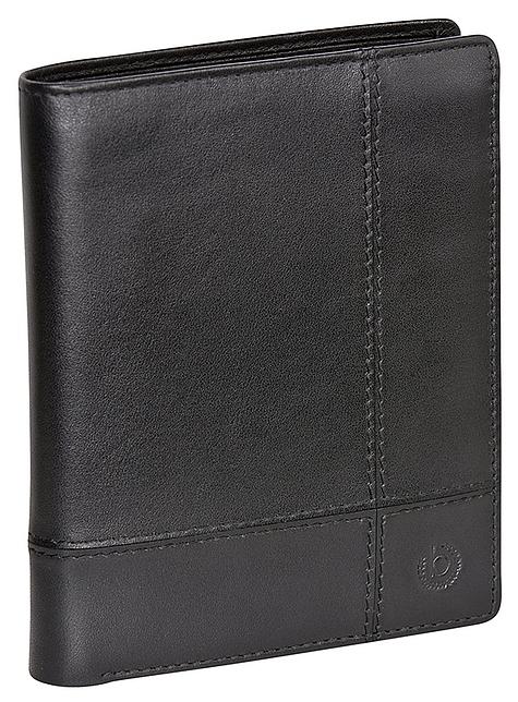 Bugatti Pánská kožená peněženka BRADFORD 49310501 černá