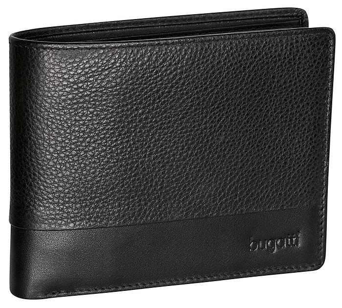 Bugatti Pánská kožená peněženka ATLANTA 49320301 černá