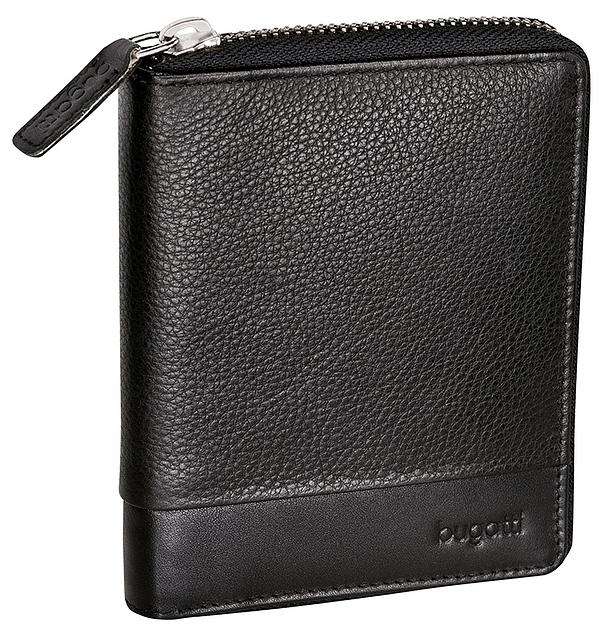 Bugatti Kožená peněženka ATLANTA 49320701 černá