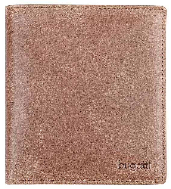 Bugatti Kožené pouzdro na kreditní karty BOGOTÁ 49216907 koňak
