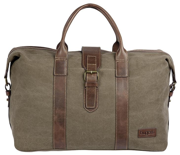 Bugatti Cestovní taška CAPETOWN 49583688 khaki /koňak