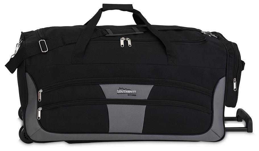 Southwest Cestovní taška na kolečkách 30089-0117 černo-šedá