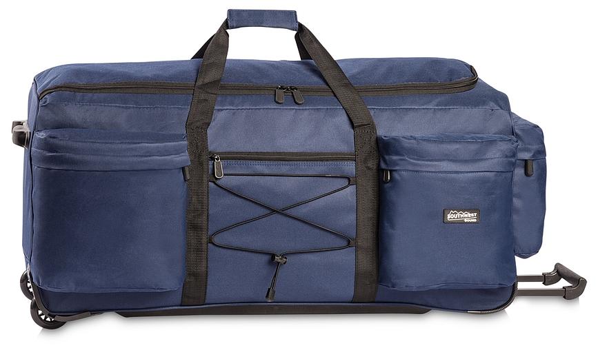 Southwest XXL cestovní taška na kolečkách 30222-0600 modrá