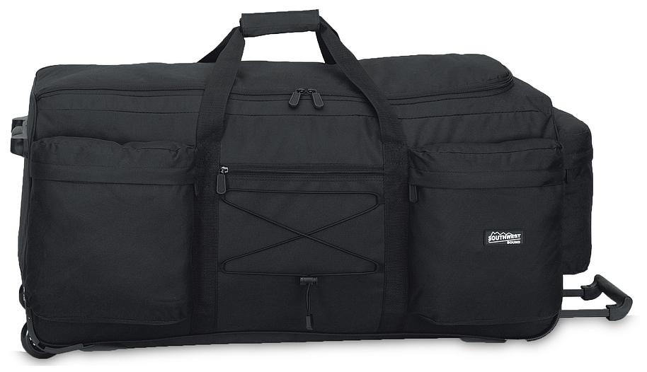 Southwest XXL cestovní taška na kolečkách 30222-0100 černá