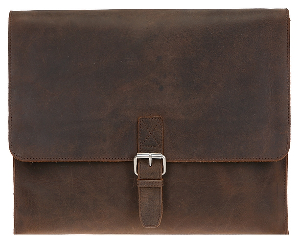 LEONHARD HEYDEN Kožená taška na notebook LEONHARD HEYDEN SALISBURY L 7658 hnědá