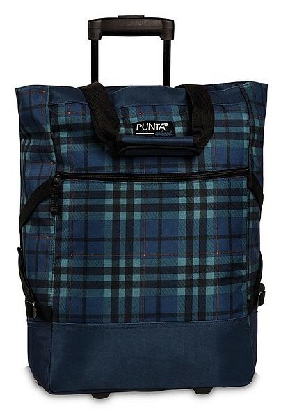 PUNTA wheel Nákupní taška na kolečkách 10008-5000 tmavě modrá