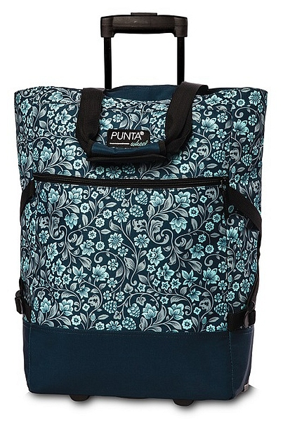 PUNTA wheel Nákupní taška na kolečkách 10008-5023 modrá