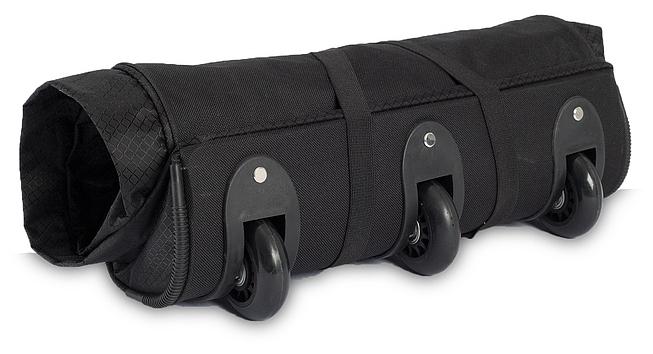 Southwest Skládací XXL cestovní taška na kolečkách 30232-0100 černá