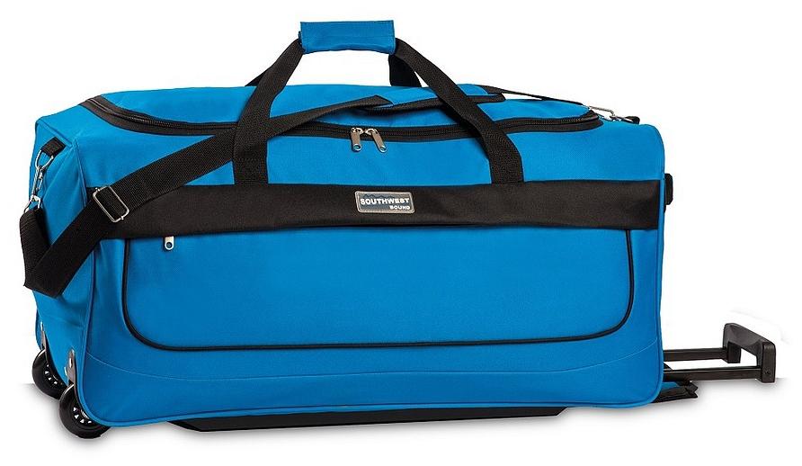 Southwest Cestovní taška na kolečkách 30261-4600 kalifornská modrá