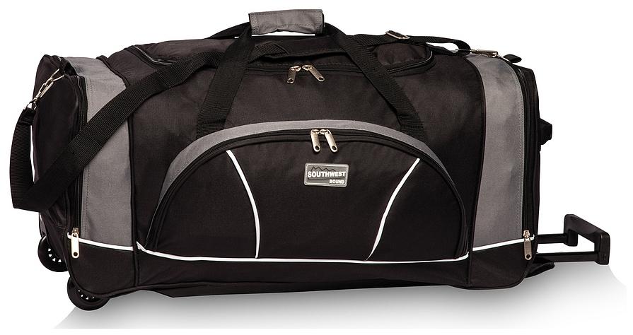 Southwest Cestovní taška na kolečkách 30264-0117 černo-šedá