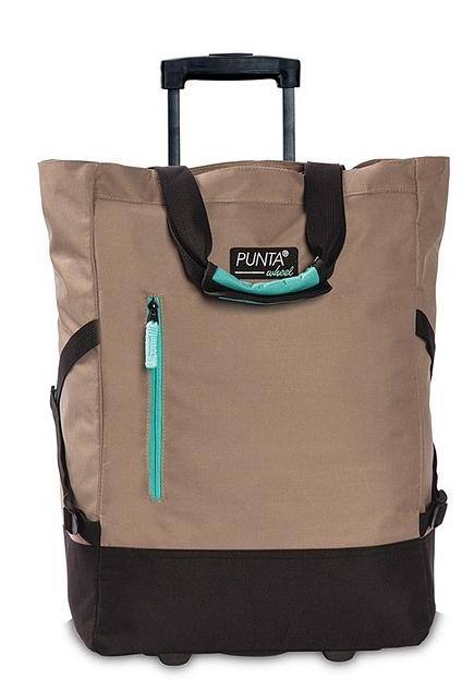 PUNTA wheel Nákupní taška na kolečkách PUNTA wheel 10183-2723 světle hnědá