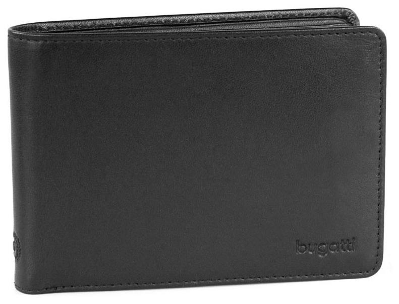 Bugatti Pánská kožená peněženka PRIMO 49107901 černá