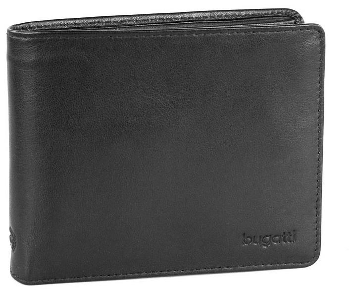 Bugatti Pánská kožená peněženka PRIMO 49108001 černá