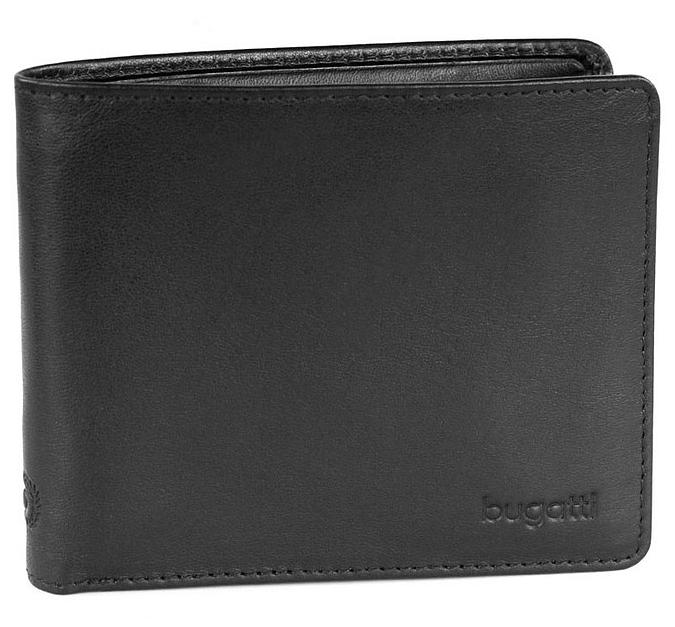 Bugatti Pánská kožená peněženka PRIMO 49108101 černá