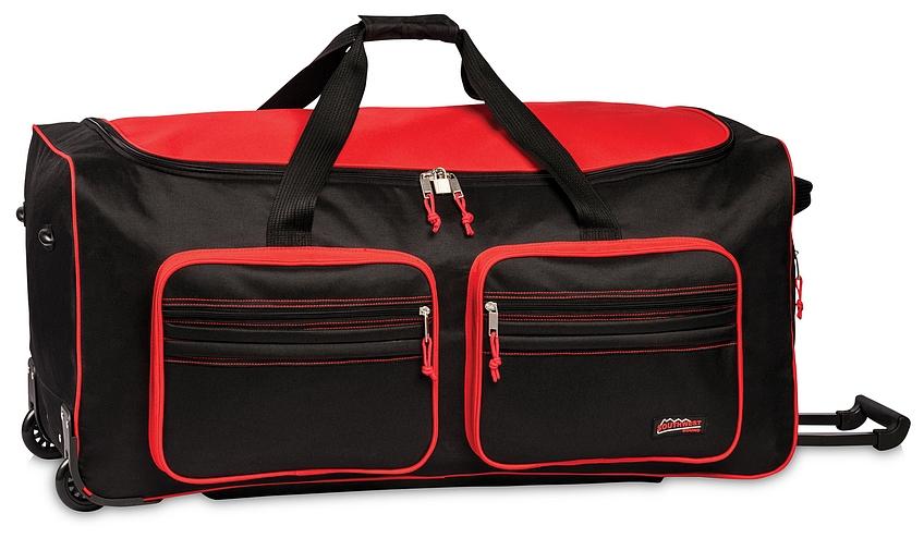 Southwest XXL cestovní taška na kolečkách 30059-0102 černo-červená