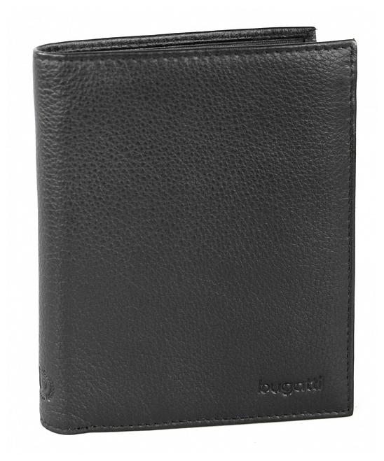 Bugatti Pánská kožená peněženka SEMPRE 49117601 černá