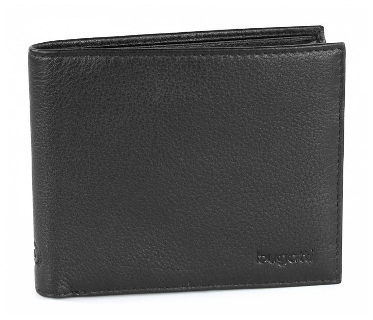 Bugatti Pánská kožená peněženka SEMPRE 49117901 černá