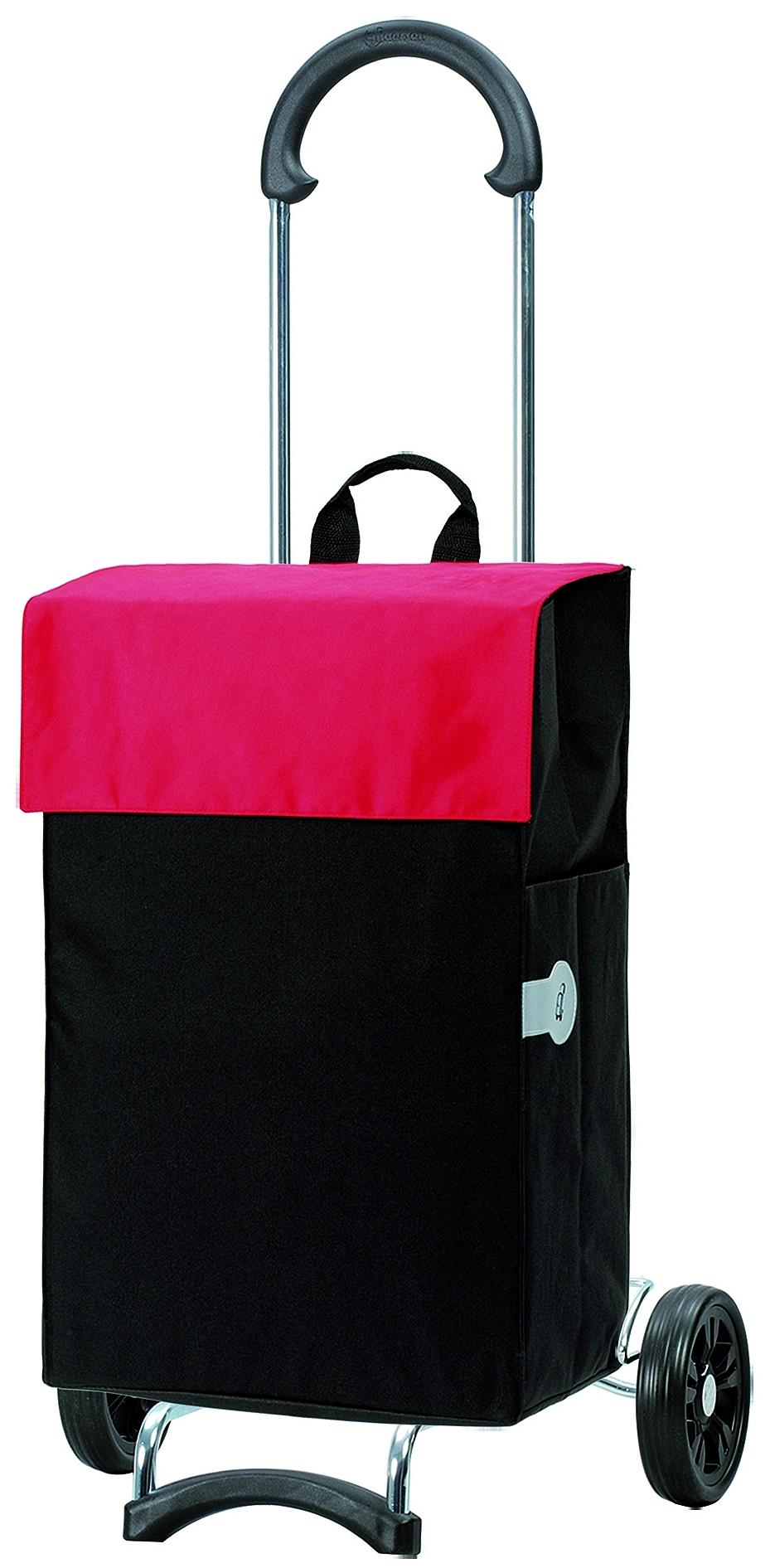 Andersen Nákupní taška na kolečkách SCALA SHOPPER® HERA 112-004-70 černo-červená