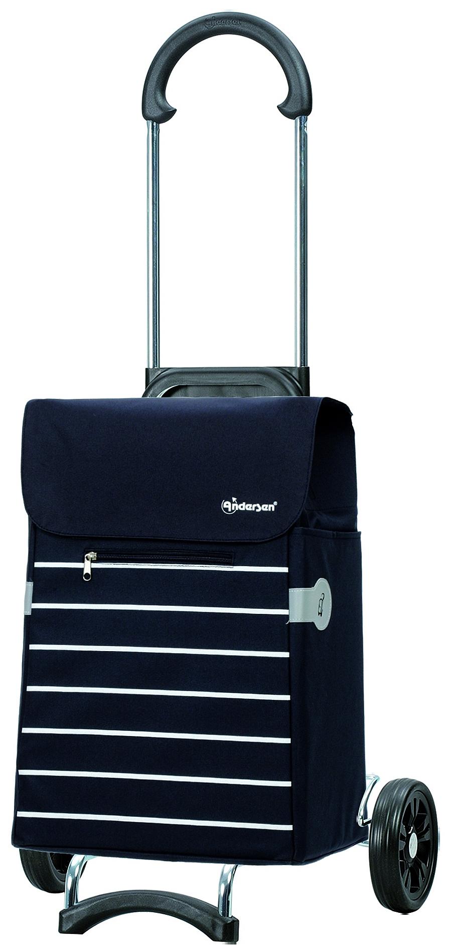 Andersen Nákupní taška na kolečkách SCALA SHOPPER® LINI 112-108-90 tmavě modrá