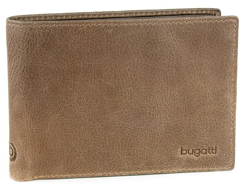 Bugatti Pánská kožená peněženka VOLO 49217602 hnědá