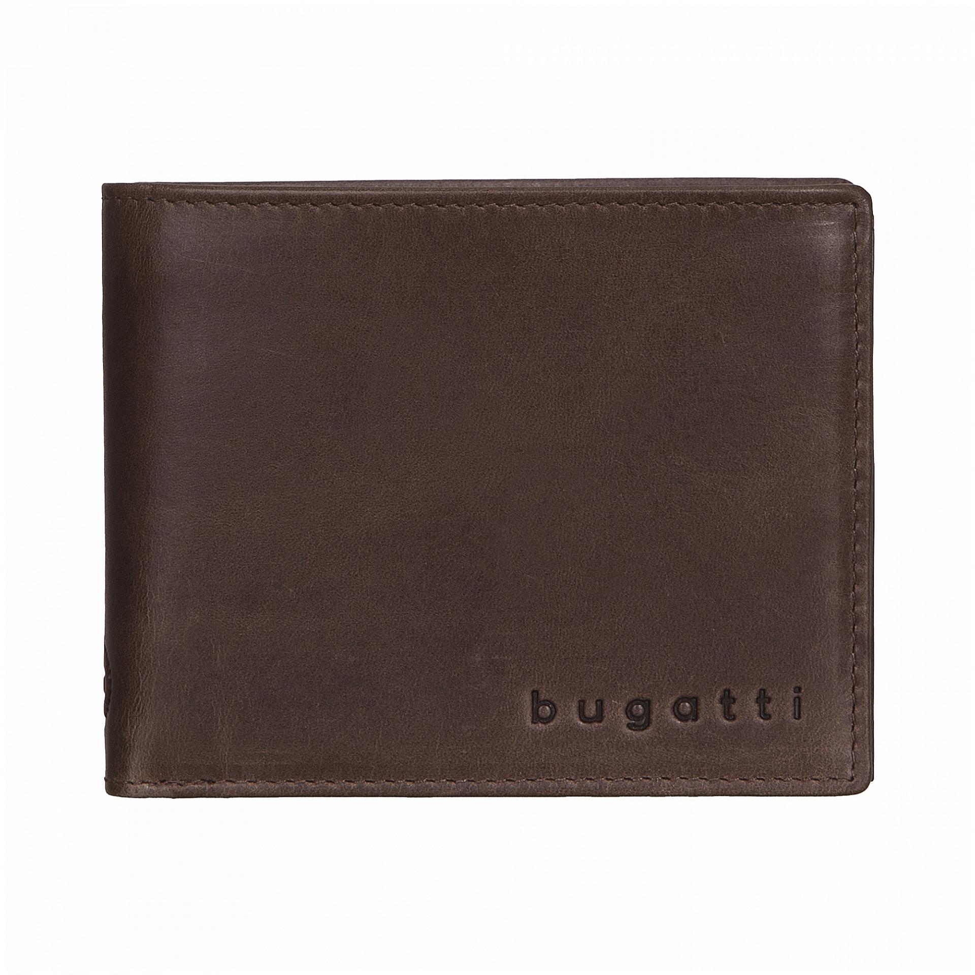Bugatti Pánská kožená peněženka VOLO 49217802 hnědá