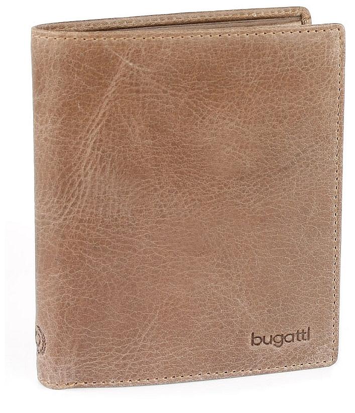 Bugatti Pánská kožená peněženka VOLO 49218302 hnědá