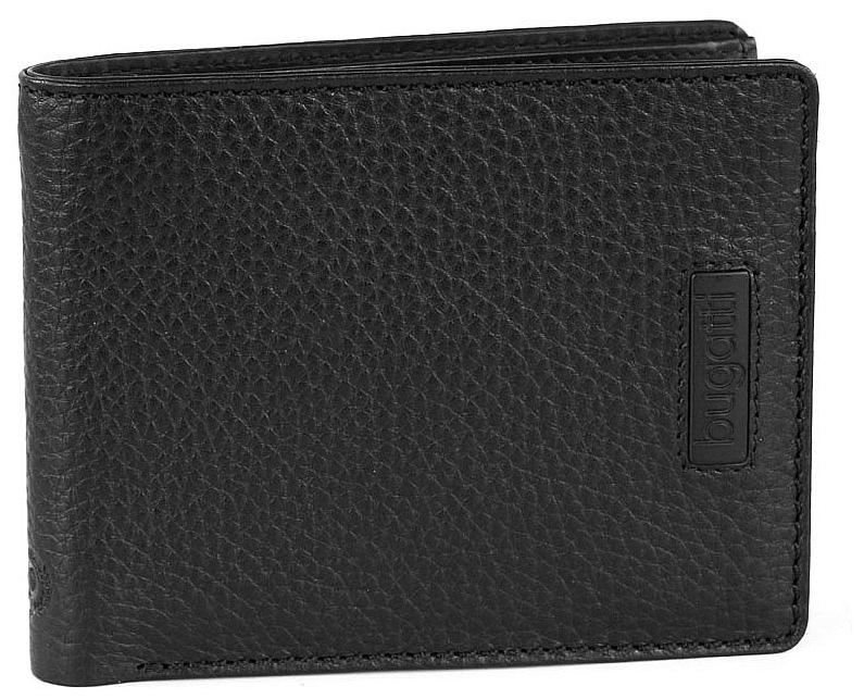 Bugatti Peněženka na kreditní karty Pregio 49312501 černá