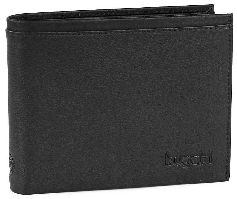 Bugatti Pánská kožená peněženka Veloce 49313201 černá