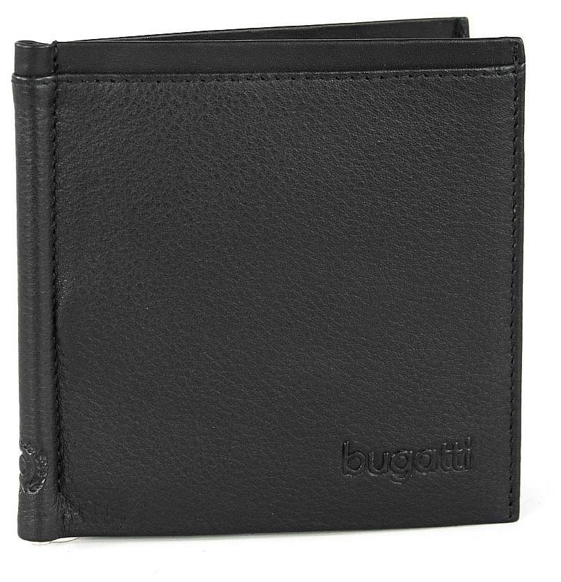Bugatti Pánská kožená peněženka s klipem Veloce 49313501 černá
