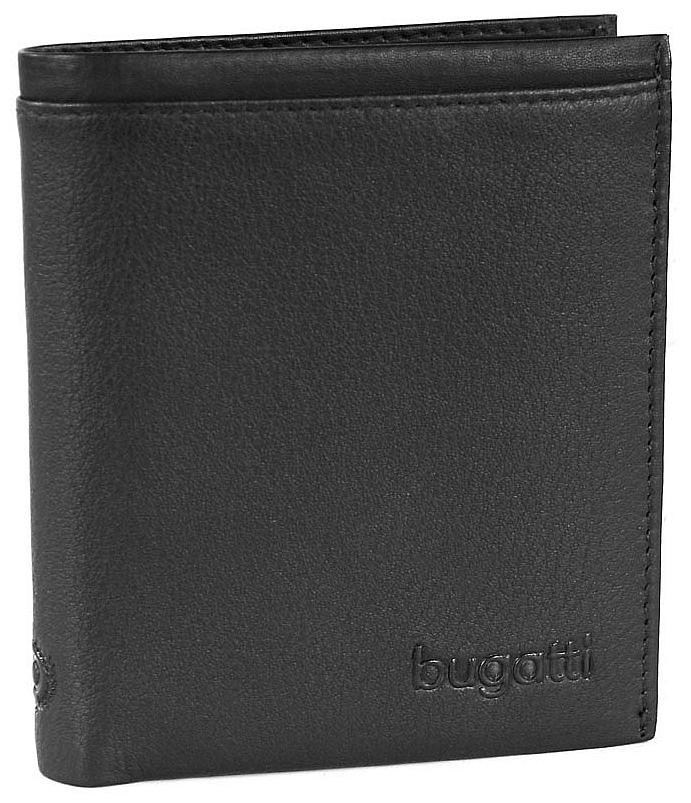 Bugatti Pánská kožená peněženka Veloce 49313701 černá