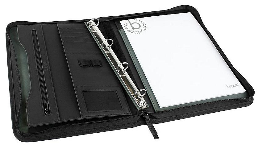 Bugatti Konferenční desky A4 s kroužkovou vazbou Ufficio 49112401 černá