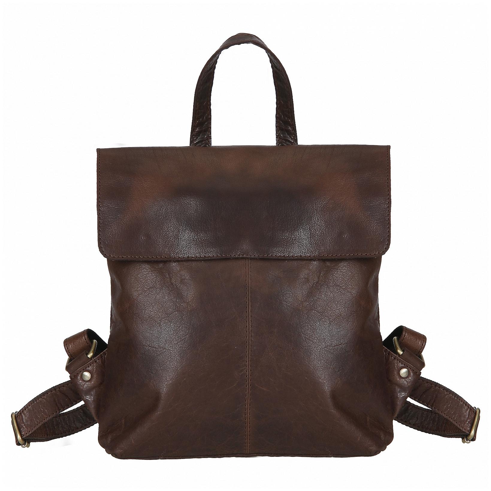 ESTELLE Dámský kožený batoh 1191 hnědý 8b2633df73